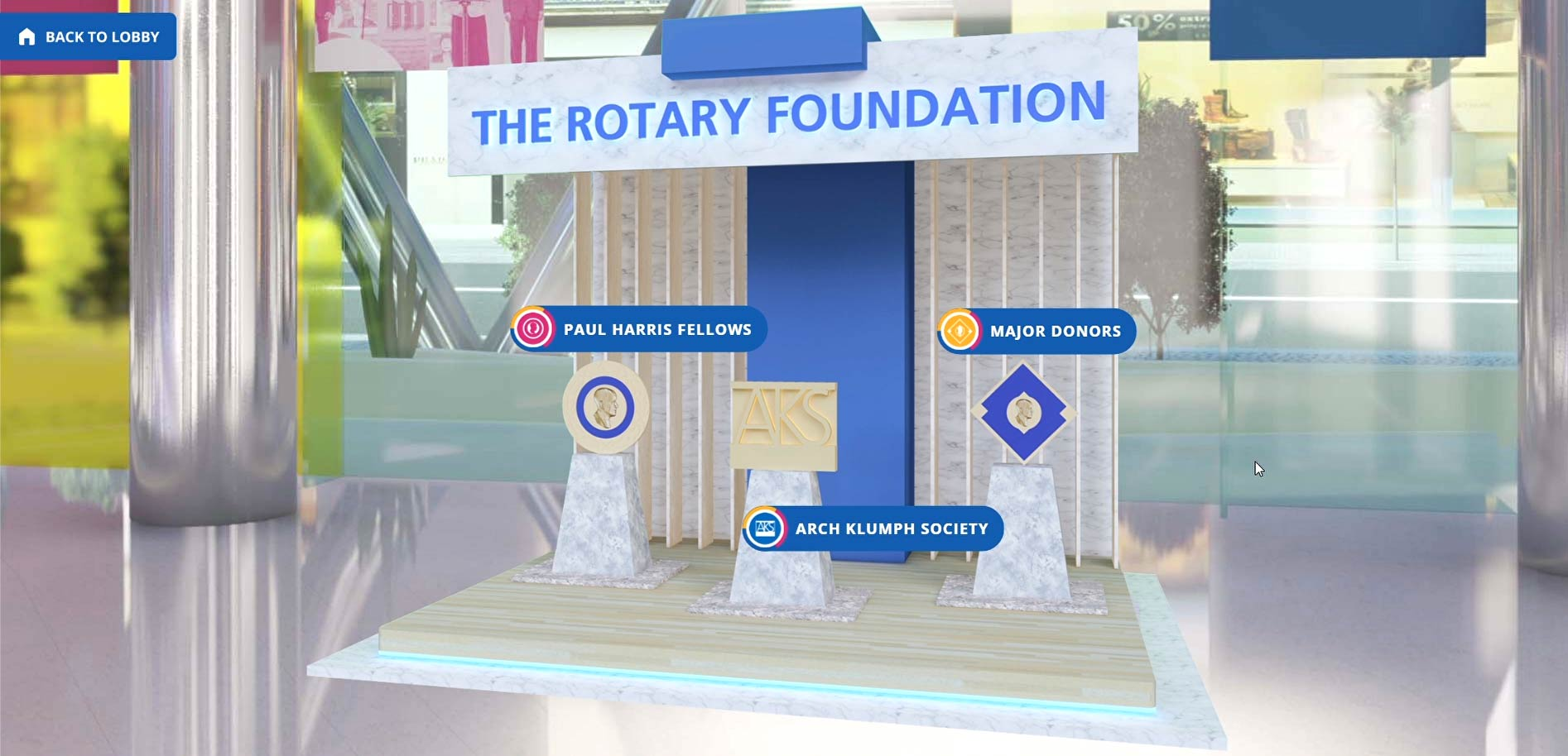 TRF Gallery of The Rotary Foundation's Paul Harris Fellows